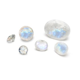 Rainbow Moonstone  Faceted Stones