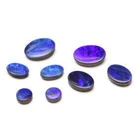 Australian Opal Doublets (Dark Ultraviolet)