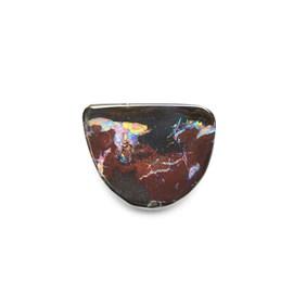 Australian Boulder Opal Freeform Cabochon, Approx 16x12.5mm