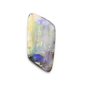 Australian Freeform Boulder Opal Cabochon, Approx 33x16mm