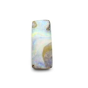 Australian Freeform Boulder Opal Cabochon, Approx 26x11mm