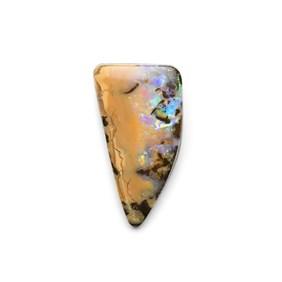 Australian Freeform Boulder Opal Cabochon, Approx 24.5x13mm