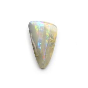 Australian Freeform Boulder Opal Cabochon, Approx 22x13.5mm