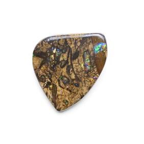 Australian Freeform Boulder Opal Cabochon, Approx 27.5x22mm