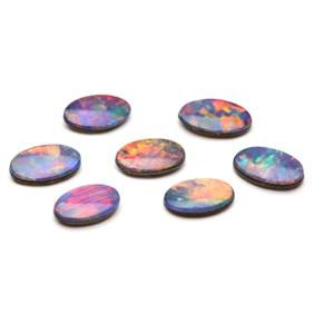 Australian Opal Doublets 5x3mm Oval