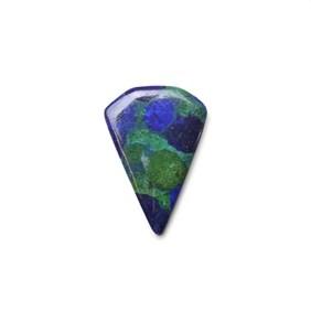 Azurite 29x20mm Diamond Shape Cabochons