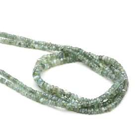 Alexandrite Faceted Rondelle Beads, Approx 2.2mm