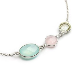 Love, Joy & Positivity Trio Necklace