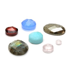 Faceted Top Cabochons