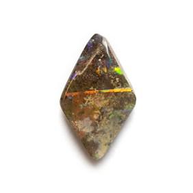Australian Boulder Opal Freeform Cabochon, Approx 14.5x8.5mm