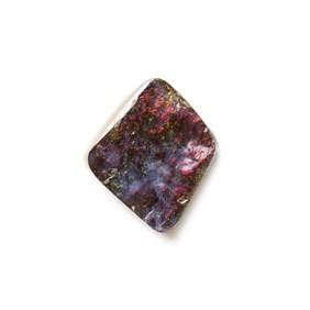 Australian Boulder Opal Freeform Cabochon, Approx 10x10mm