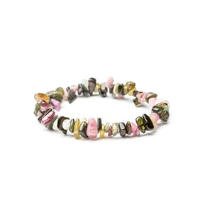 Tourmaline Chip Bead Bracelet