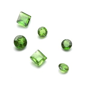 Tsavorite Garnet Faceted Stone