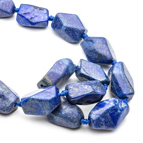 Lapis Lazuli Nugget beads, From Approx 18-25mm To 20-35mm
