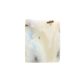 Australian Boulder Opal  Freeform Cabochon, Approx 20x16mm
