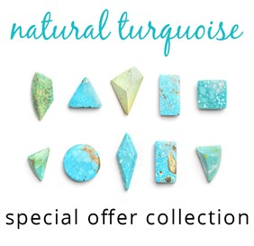 Untreated Turquoise Special Offer