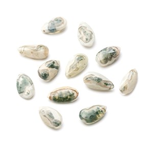 Solar Quartz Faceted Teardrop Shape Briolette Beads, Approx 16-22mm