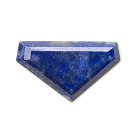 Lapis Lazuli Faceted Top 39.5x23mm Cabochon