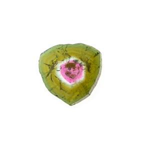Watermelon Tourmaline Polished Slice