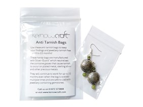 Anti Tarnish Bags, Pack of 10