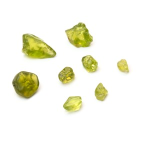 Natural Peridot Tumbled Polished Stones (Undrilled)