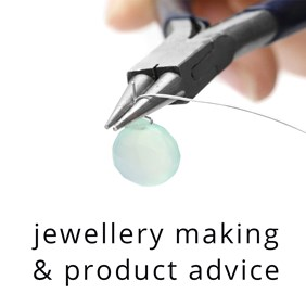 jewellery making and product advice
