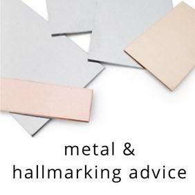 metal and hallmarking advice