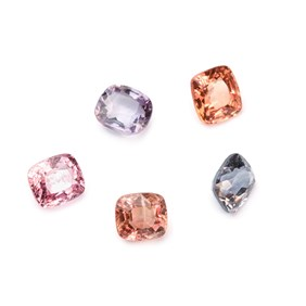 Spinel Cushion Cut Faceted Stones