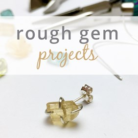6 Easy Jewellery Design Ideas For Rough Gems