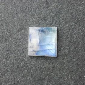 Rainbow Moonstone 19mm Square Cabochon