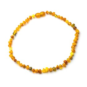Child's Baltic Amber Nugget Necklace