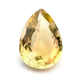 Citrine 20.5x13mm Teardrop Faceted Stone
