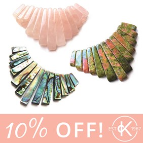 10% off tapered sets