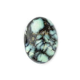 New Lander Turquoise 18x13mm Oval Cabochon