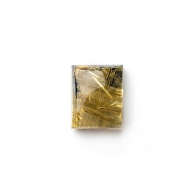 Golden Rutile Quartz 15x12mm Rectangular Cabochon