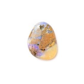 Australian Boulder Opal Approx 11.5x9mm Head Drilled Focal Pendant