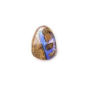 Australian Boulder Opal Approx 9x6.5mm Top Drilled Focal Pendant