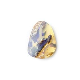 Australian Boulder Opal Approx 15x11.5mm Top Drilled Focal Pendant