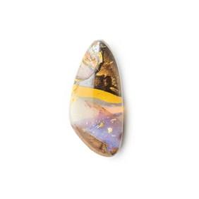 Australian Boulder Opal Approx 20x9mm Top Drilled Focal Pendant