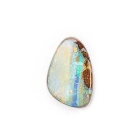 Australian Boulder Opal Approx 12.5x8.5mm Top Drilled Focal Pendant