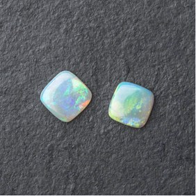 Solid Opal Square Cabochon, Approx From 7.5mm To 8mm