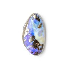 Australian Boulder Opal Approx 13.5x7.5mm Top Drilled Focal Pendant