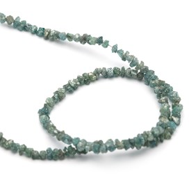 Blue Diamond Natural Rough Nugget Beads, Approx 1-2.5mm