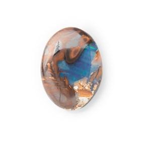 Australian Free Form Boulder Opal, Approx 23x17mm