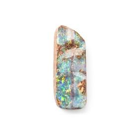 Australian Free Form Boulder Opal, Approx 22.5x8.8mm