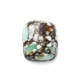New Lander Turquoise Cabochon, Approx 9x8mm