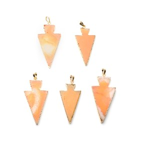 Ready To Wear Agate Arrow Pendant