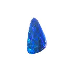 Australian Free-Form Opal Doublet, Approx 11x6mm