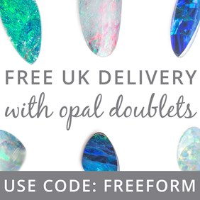 Free UK Delivery With Opal Doublets