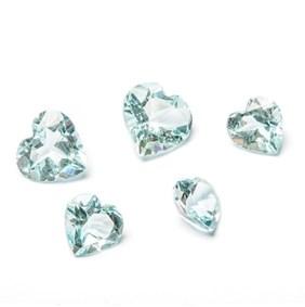 aquamarine faceted stones